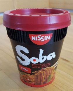 SOBA Nudeln von Nissin
