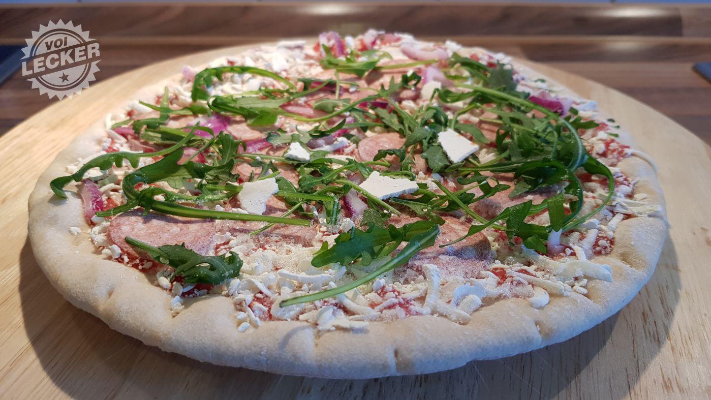 Pizza Calabrese tiefgefroren