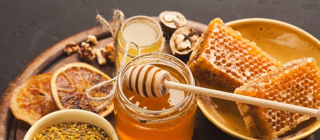 Verschiedene Honigarten