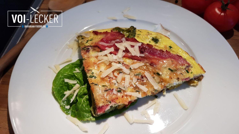 Gemüse Omelette