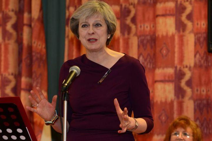 Conservative Leader Theresa May