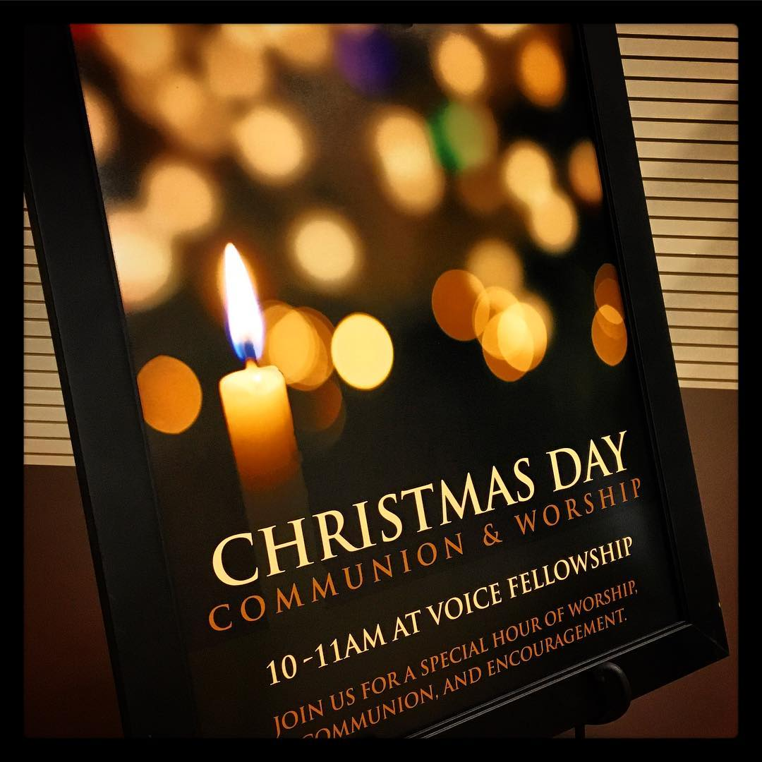 Christmas Day service at #ihopmichiana and #voiceministries