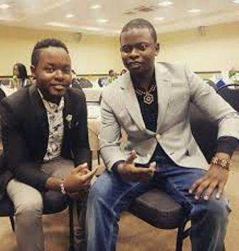 Swordsman Sam Megas' reunion with Prophet Shepherd Bushiri