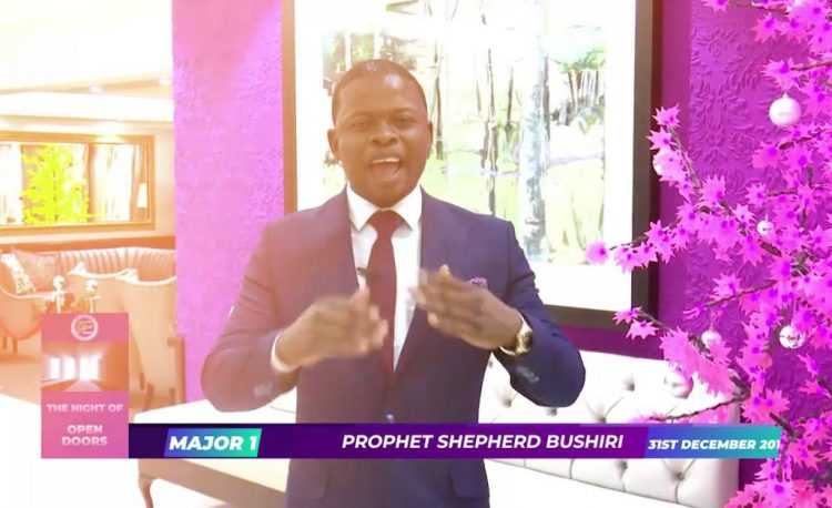 Cross Over Night of Open Doors with Prophet Bushiri