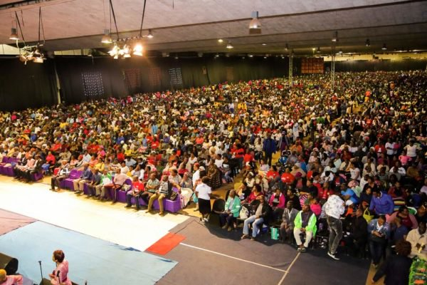 Bushiri chalks another record: Amidst rains, gathers over 100 000 for Crossover night