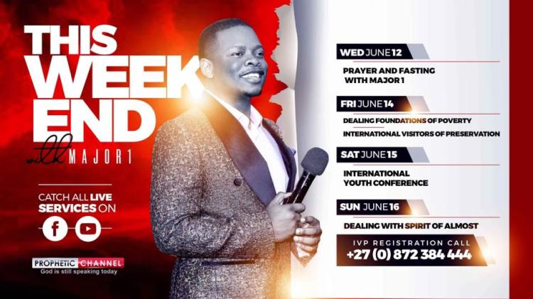 A weekend of Preservation with Major 1 - Prophet Bushiri
