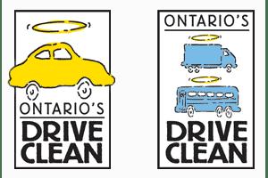 Ontario drive clean logos