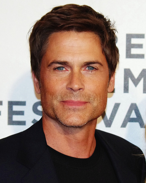 portrait photo of Rob Lowe