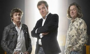 The Top Gear originals: L-R , Hammond, Clarkson and May