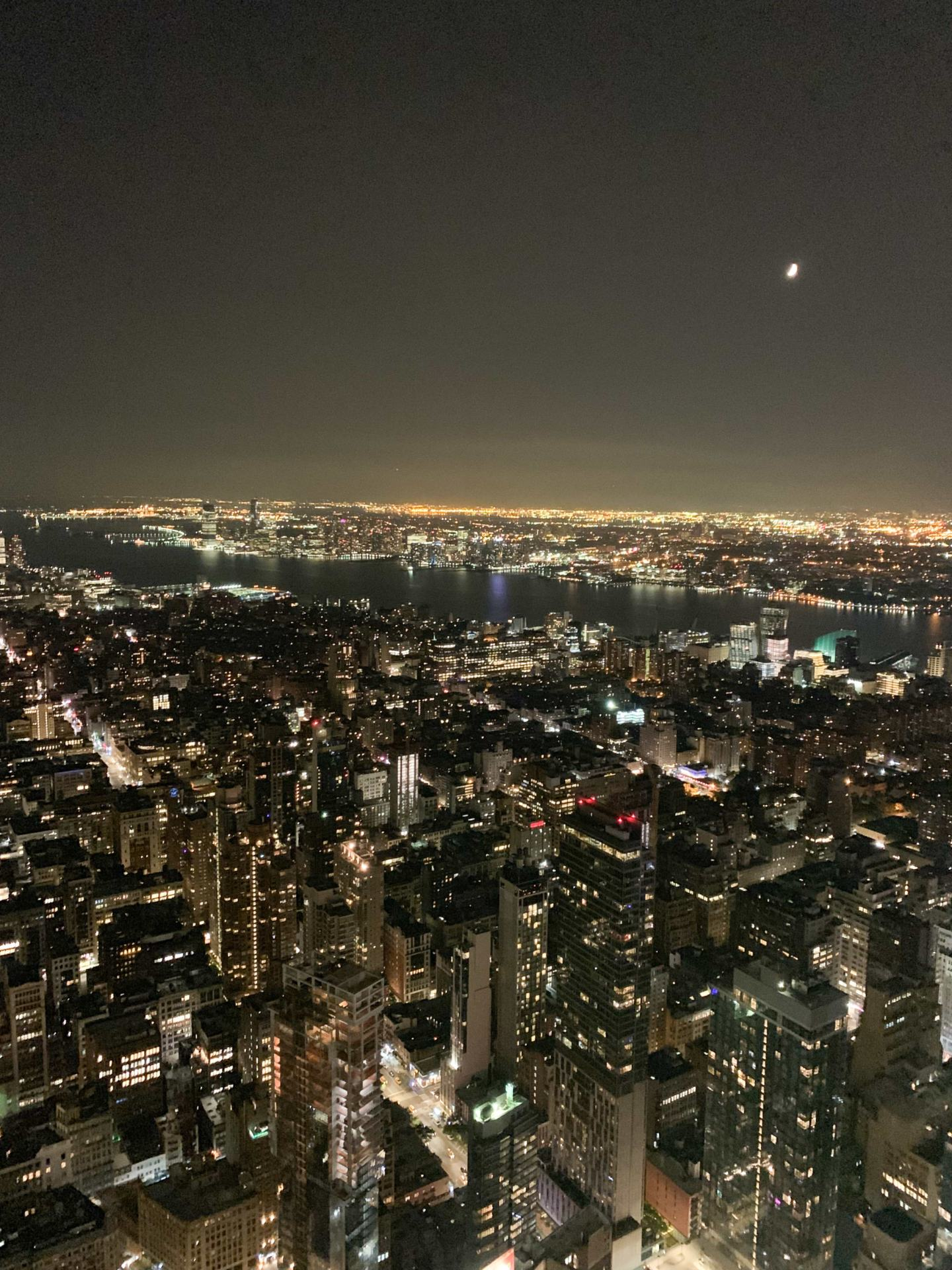 Night View from Empire State Building