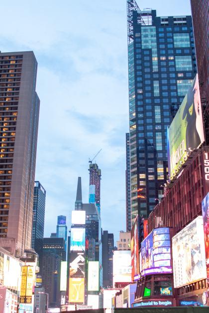 nyc travel city lights