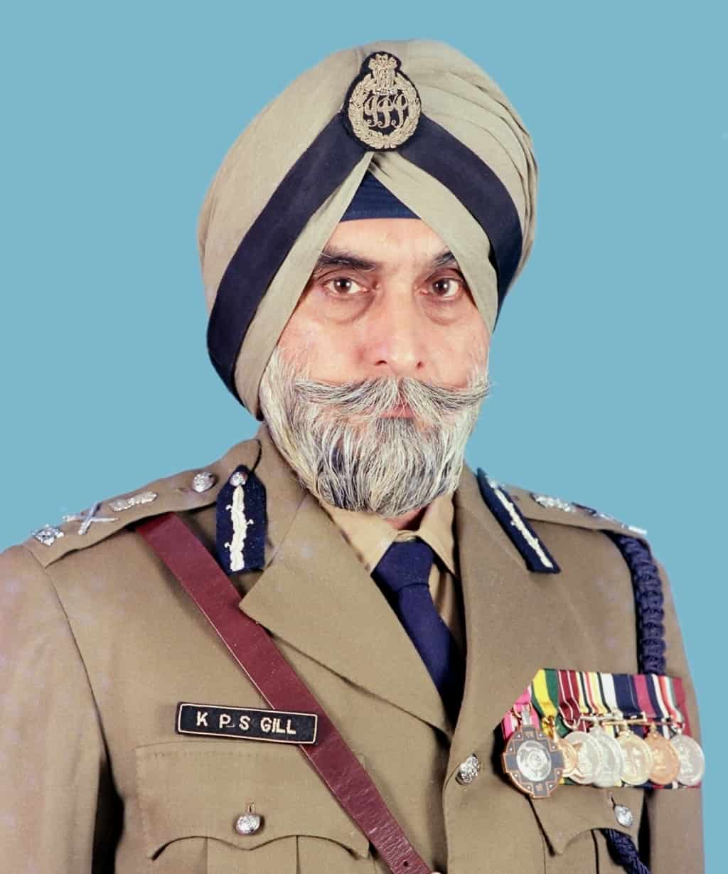 Image result for KPS Gill -- photos