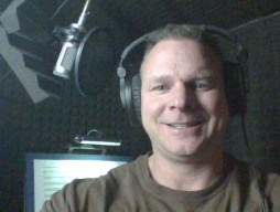about professional male voice-over talent Davie Kimm.