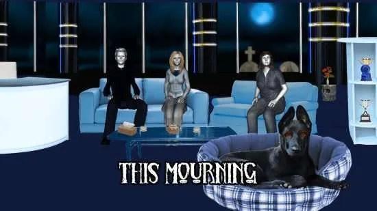 This Mourning dog