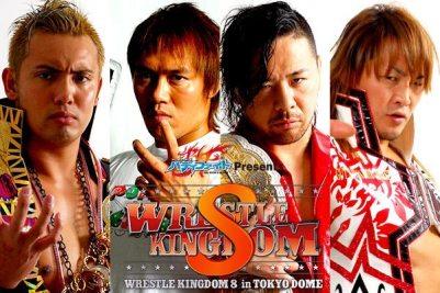 New Japan Pro Wrestling Wrestle Kingdom 8 Coverage