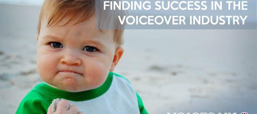 Finding success in the voiceover industry