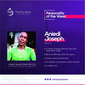 Aniedi Edet, the Proficient Runner at 47