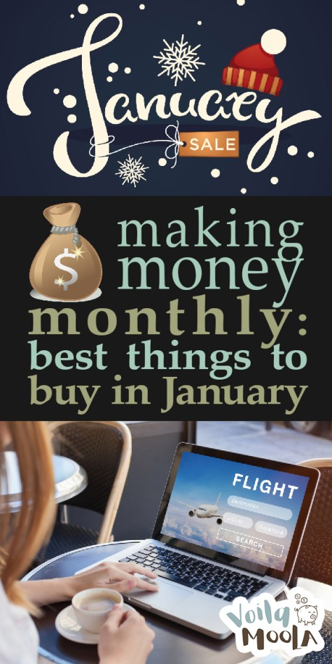 best things to buy in january | making money | making money monthly | savings | save money | money tips | deals in january | tips and tricks | money