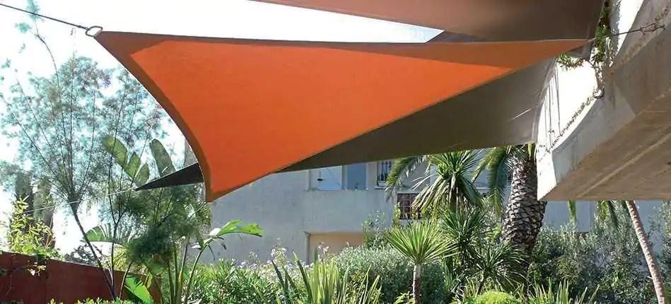 la voile d ombrage triangulaire pour