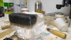 stratification polyester gelcoat moulage