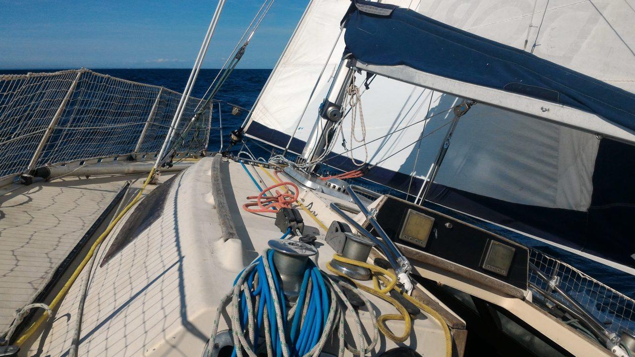 Première navigation en solitaire de St-Malo à Jersey