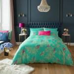 Sara Miller Bedding Green Birds King Quilt Set Voisins Department Store