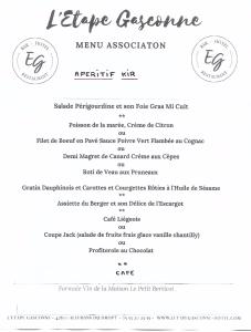 menu association