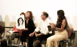 61st Taormina Film Fest, June 19th 2015, Palacongressi, Sala A. Campus with Susan Sarandon. ©2015 Luca Libertino