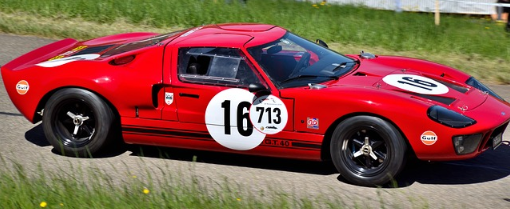 ford gt rouge
