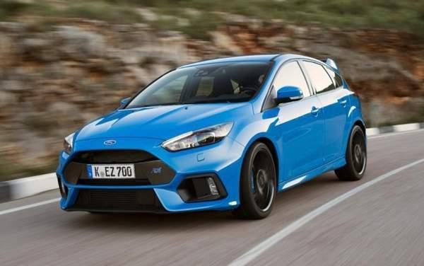 Les voitures de sport pour 30 000 € Ford Focus RS