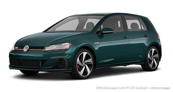 Meilleures voitures sportives : Volkswagen GTI