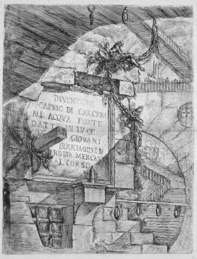 First plate in the first edition of Le Carceri d'Invenzione