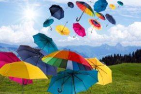 parapluies volants
