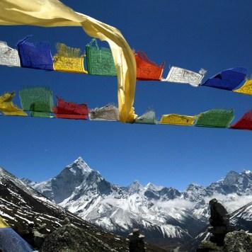 Prayer Flags, Everest Base Camp Trail, Nepal