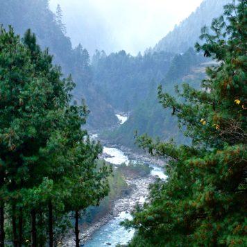 Dudh Kosi River, Everest base camp trail, Nepal