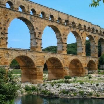 Pont du Gard, Avignon, France