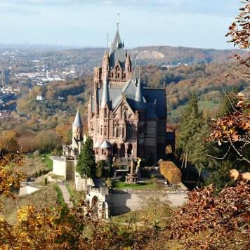 Bonn Castle, Drachenburg, Rhine River