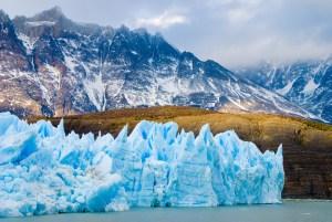 Gray Glacier, Torres del Paine National Park, Chile | Volant Travel