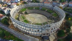 Roman Colosseum, Pula, Croatia