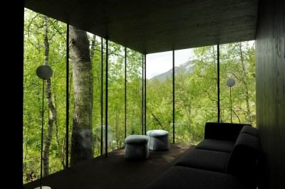Juvet Landscape Hotel, Lounge