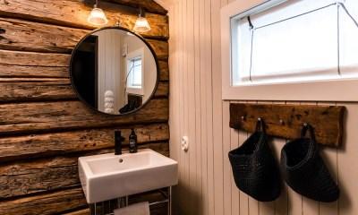 Rorbu Bathroom, Nusfjord, Lofoten Islands, Norway.jpeg