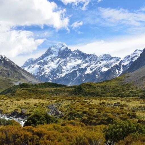 Aoraki, Mt. Cook, South Island, New Zealand