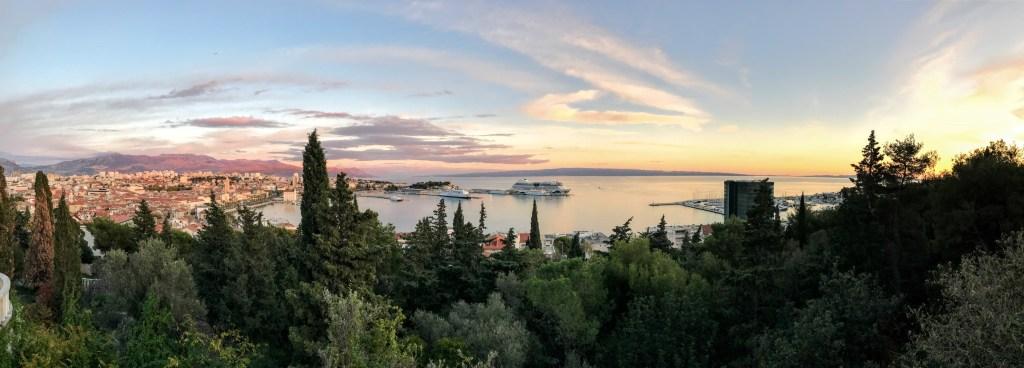 Split, Croatia - Panorama Overlook