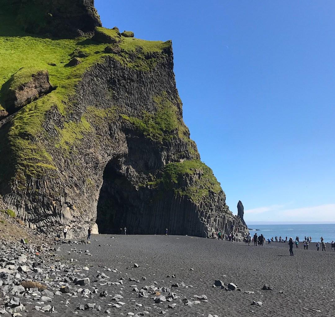 Reynisfjaara Beach, Myrdalshreppur, Vík, Iceland