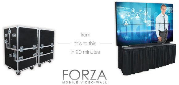 Forza mobile video-wall