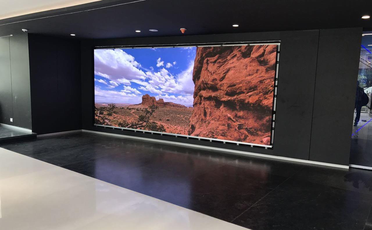 Installing An LED Video Wall - Volanti Displays