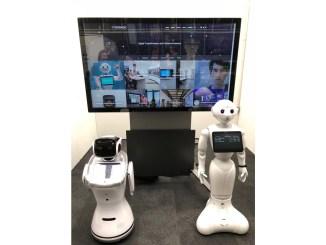 volanti lift tilt pepper robot