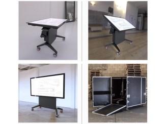 lift & tilt touch screen group
