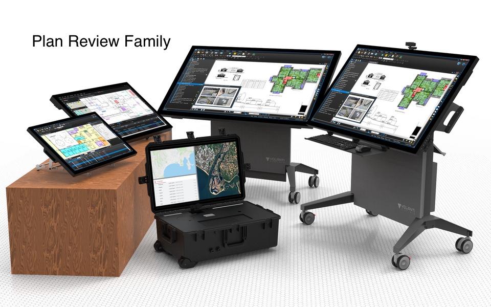 Volanti plan review table family