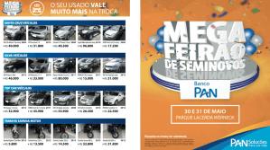 Jornal de divulgação Mega Feirão Banco Pan